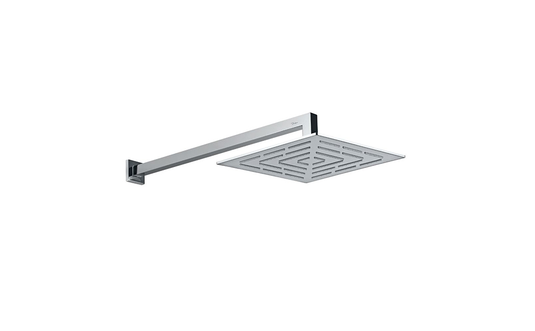 Square Shape Single Flow Maze Overhead Shower